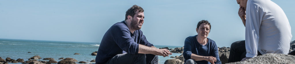 Session de travail face à la mer avec les scénaristes-consultants